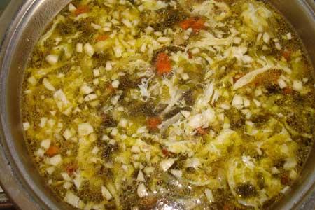сахалинский рецепт куриный супчик с морской капустой
