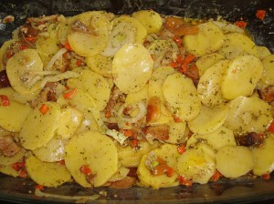 Картофельная запеканка с Сахалинским колором
