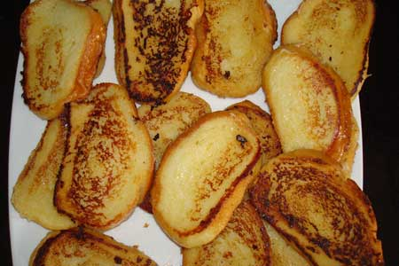 сахалинские рецепты гренки