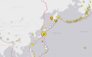 Крупнейшие в регионе землетрясения в мае 2013