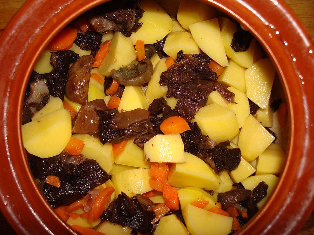 грибной суп пюре с картофелем рецепт с фото
