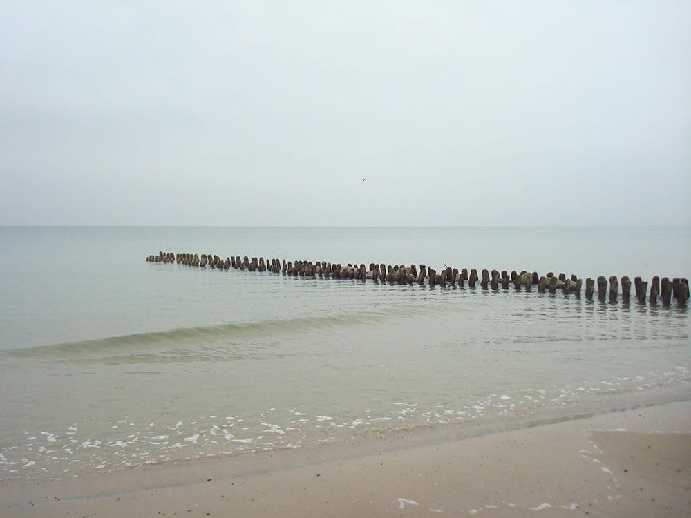 Так выглядит Балтийское побережье осенью