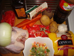 Рецепт первое и второе из одной курицы