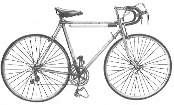 Велосипед Спутник как в СССР