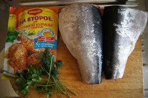Рыбка, приготовленная как курочка