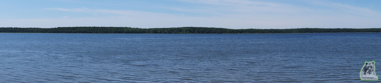 Юг Сахалина лето море озера панорама