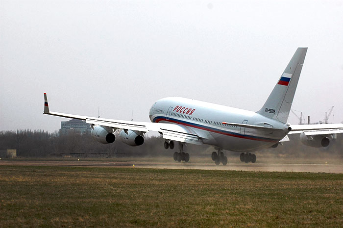 Самолет Путина Южно-Сахалинск