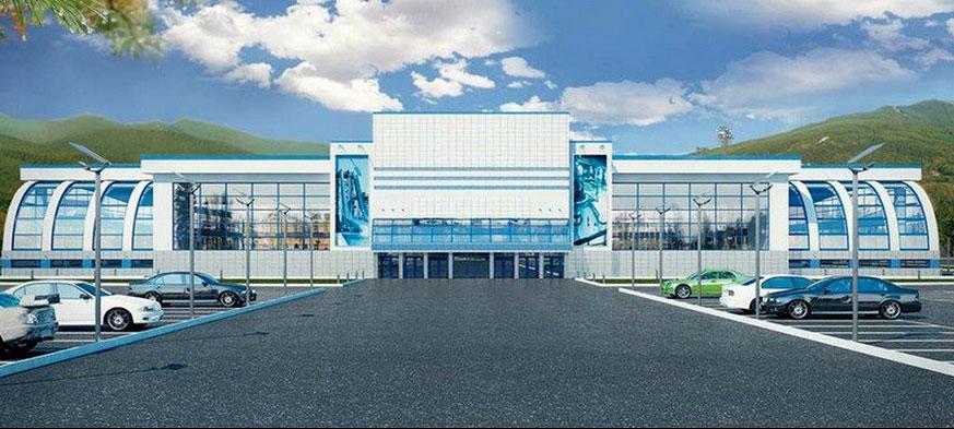 Спортивный центр на Сахалине