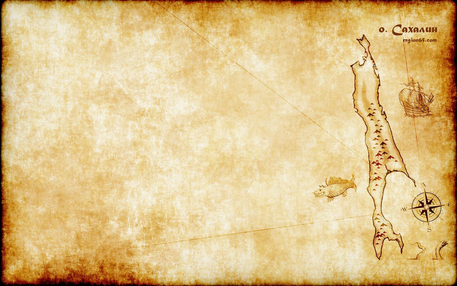 Карта Сахалина на рабочий стол скачать бесплатно