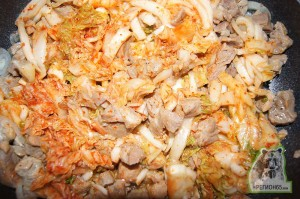 Ким-ча со свининой по-сахалински