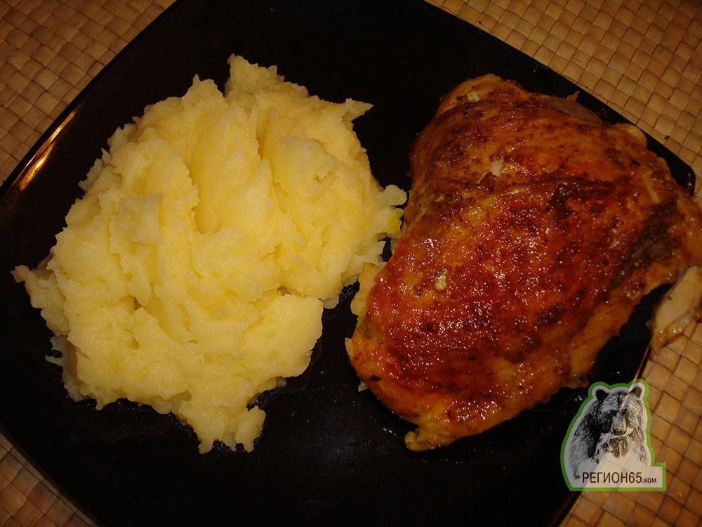 Кулинарный рецепт курица и салат по-индийски
