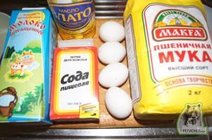 Кулинарный рецепт оладьи