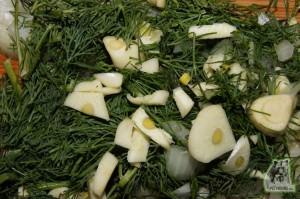 Кулинарный рецепт сочная печень с зеленью