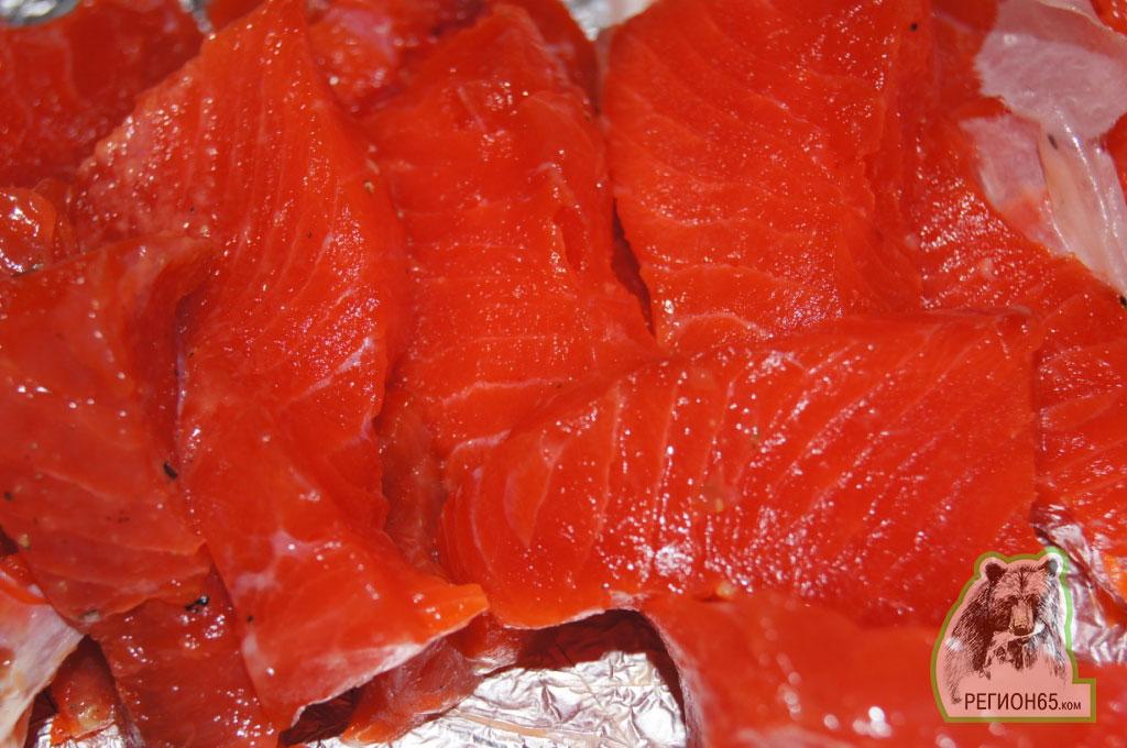 Балык из лосося рецепт 97