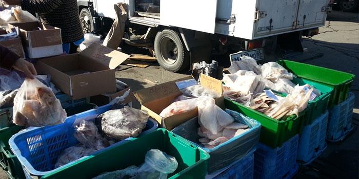 ярмарка в южно-сахалинске морепродукты