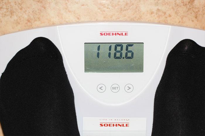 Похудеть за мсесяц - весы