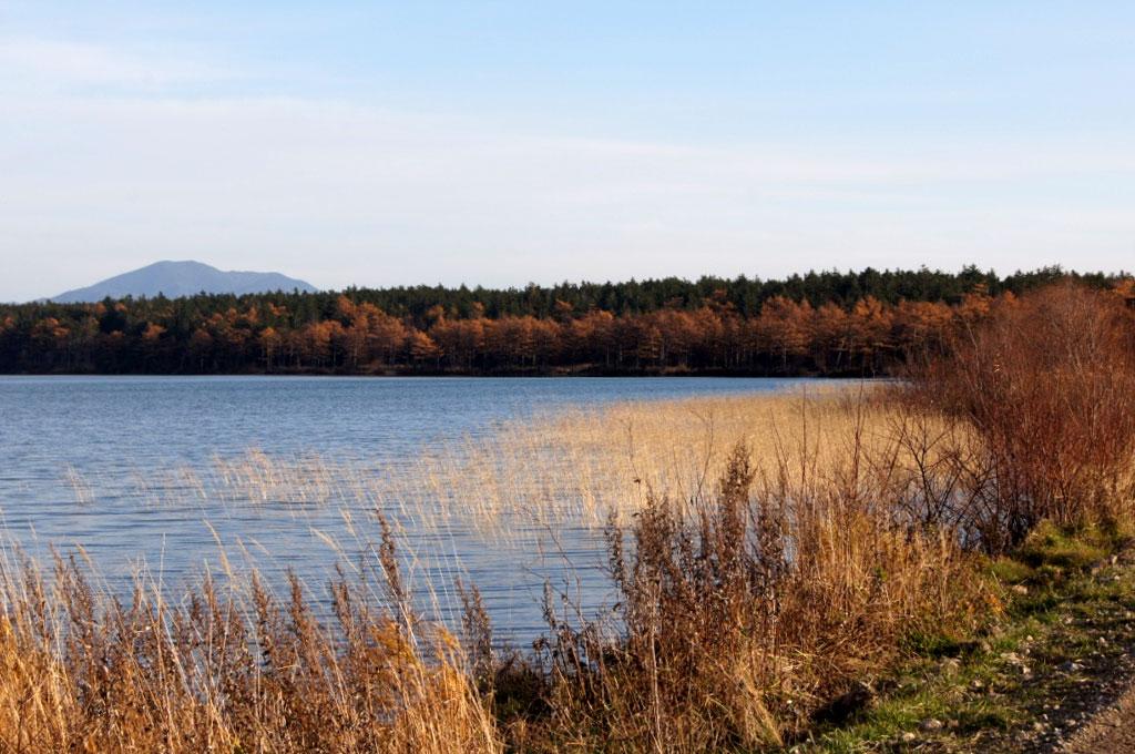 На Теплые озера опускается вечер