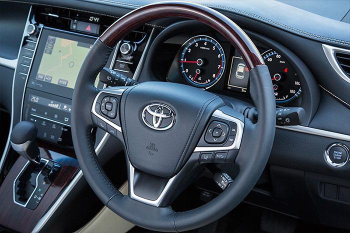 Toyota Harrier 2014 фотографии характеристики отзывы