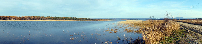 Теплые озера, панорама, октябрь 2013