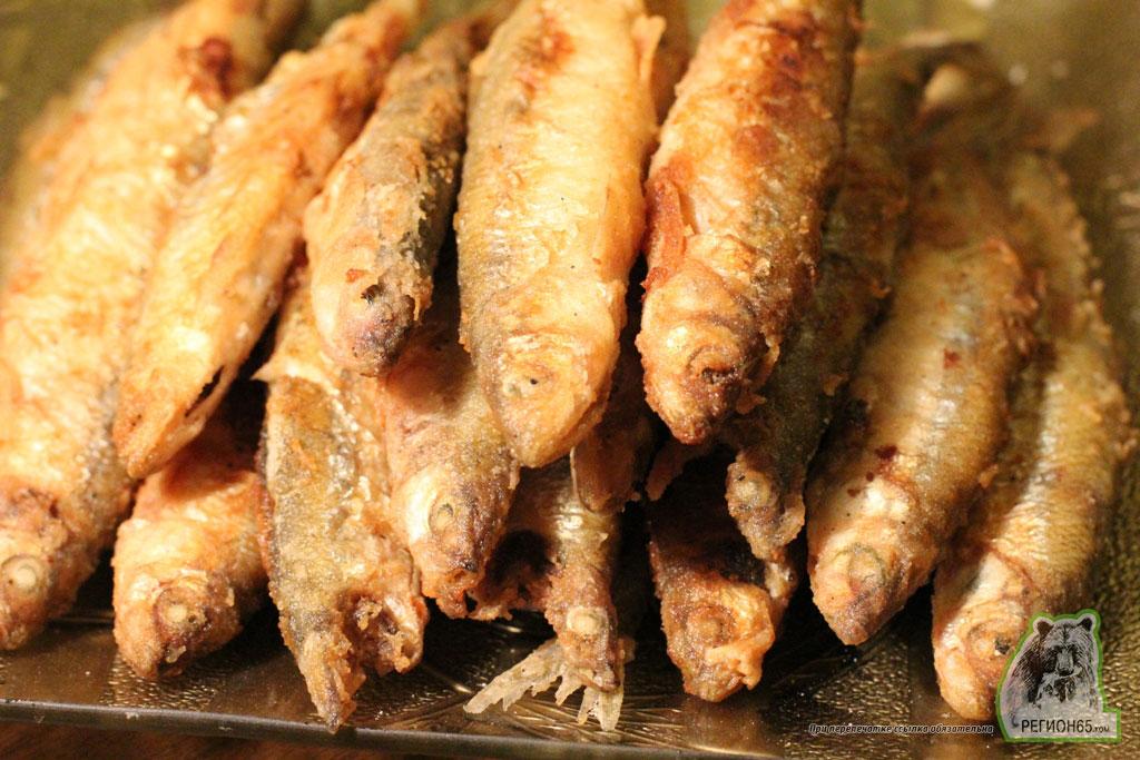 кулинарный рецепт жареная корюшка