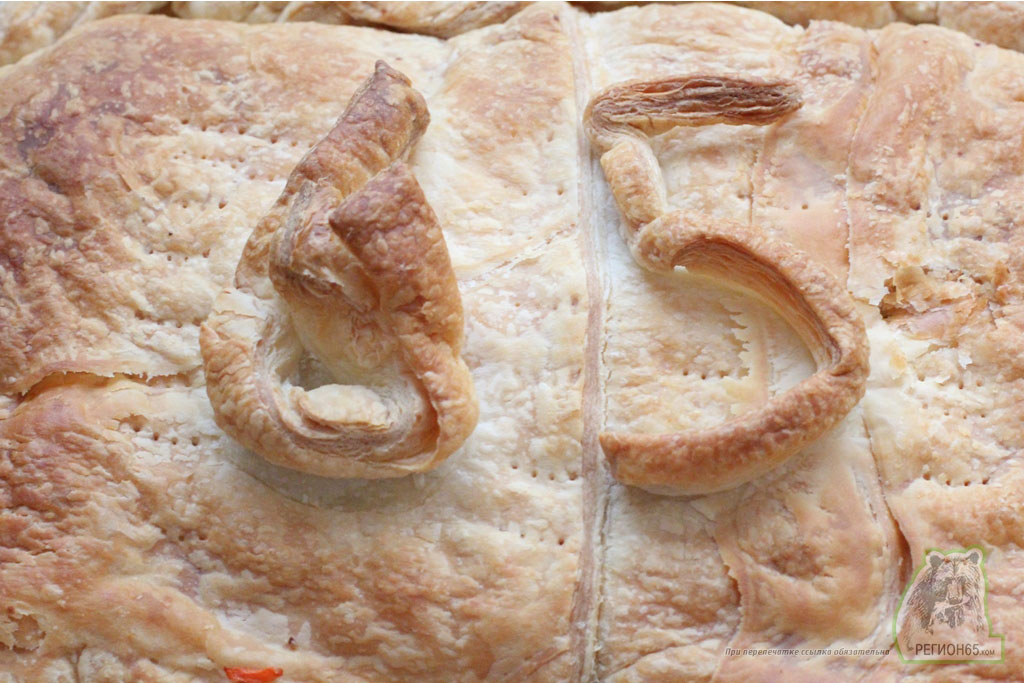 Мясной пирог из слоеного теста рецепт с фотографиями