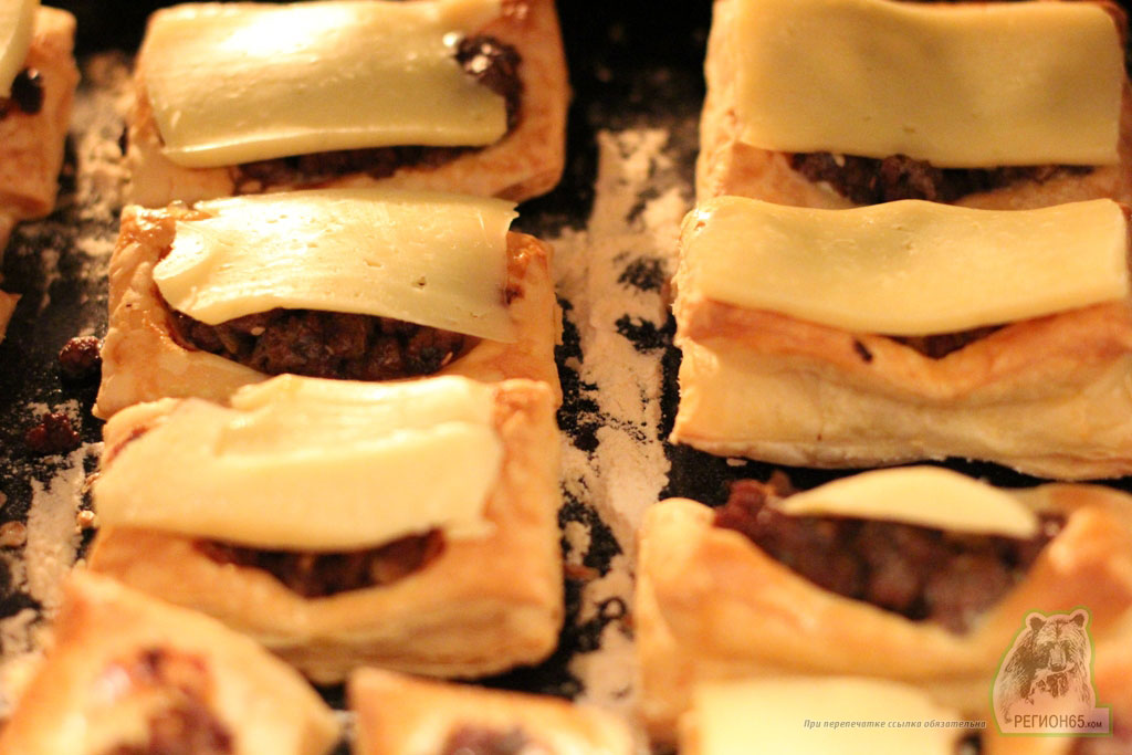Олимпийские пирожные с мясом