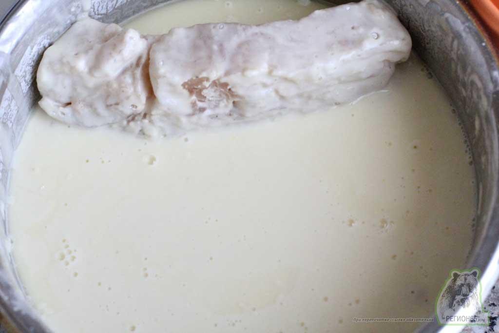 Рецепт кальмар и минтай обжаренные в корейском кляре