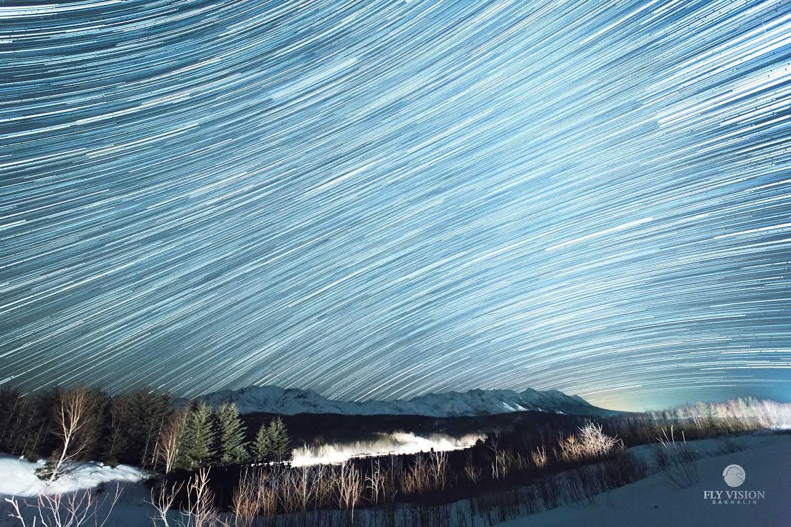 Стартрек над горой Жданко