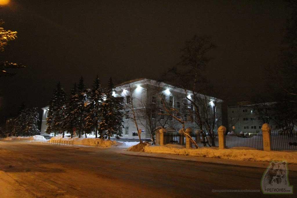 Здание суда в Южно-Сахалинске 2014 год