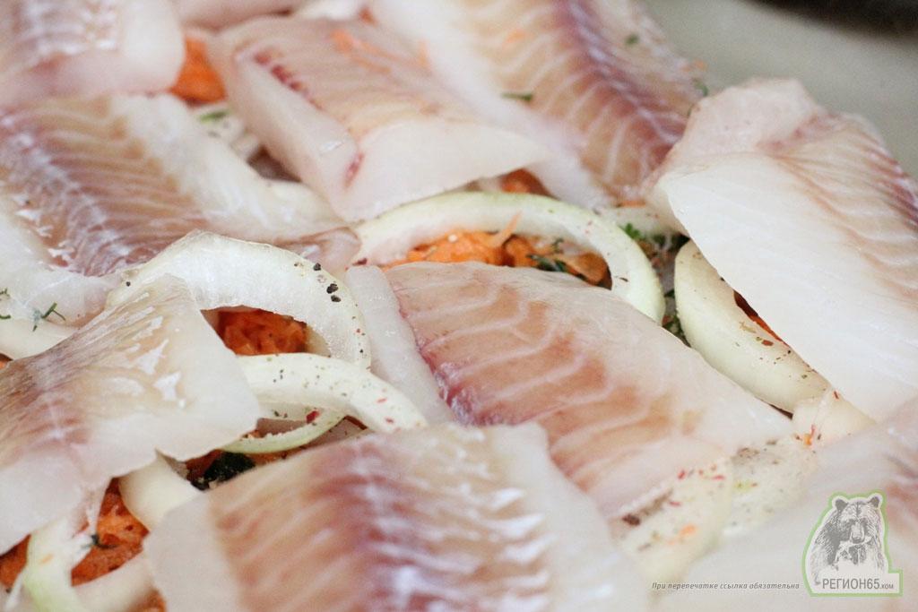 Кулинарный рецепт как лучше приготовить рыбу минтай в духовке быстро вкусно
