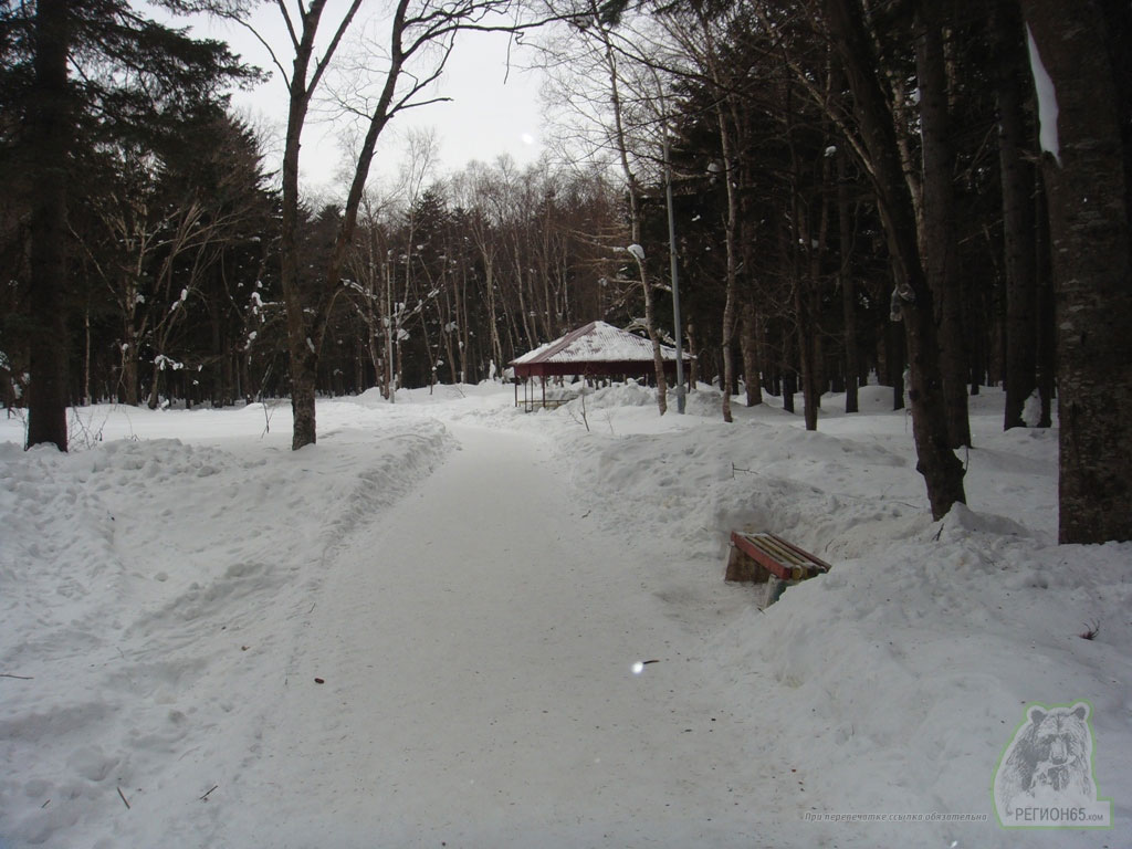 Парк в Южно-Сахалинске