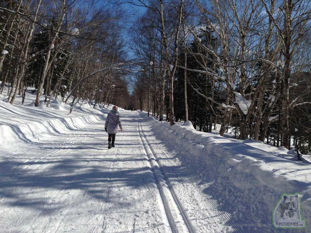 Прогулка по окраинам Южно-Сахалинска зима 2014