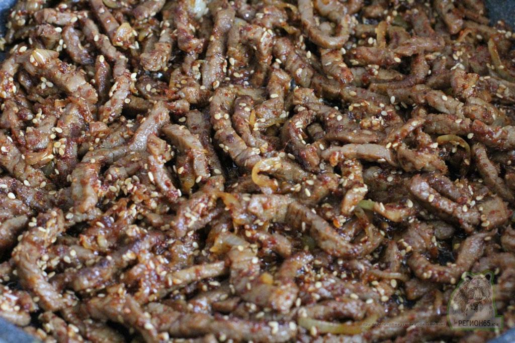 Как быстро вкусно приготовить острая говядина с огурцами по-корейски лучший рецепт с фотографиями