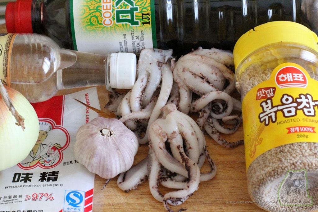 Кулинарный рецепт с фотографиями как быстро вкусно приготовить щупальца кальмара