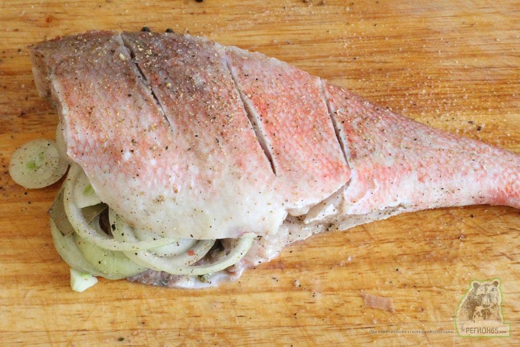 Кулинарный рецепт как вкусно быстро правильно приготовить морского окуня