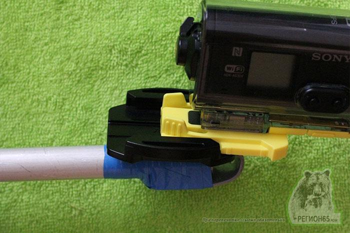Как сделать штангу для экшн камеры Sony GoPro