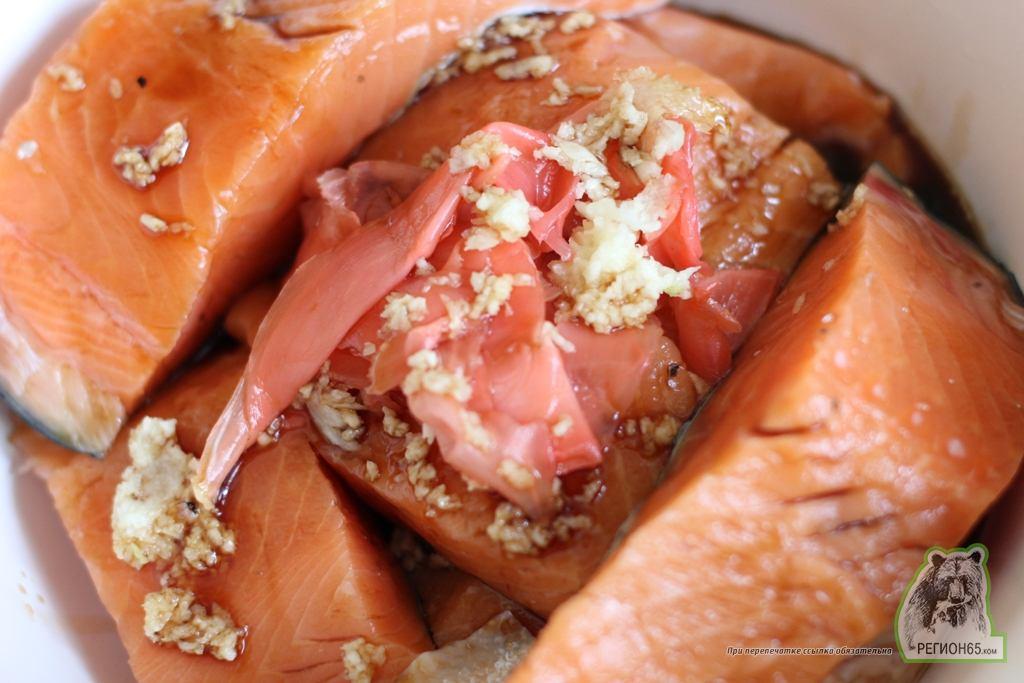 Кулинарный рецепт с фотографиями как быстро вкусно приготовить семгу запеченую в кунжуте